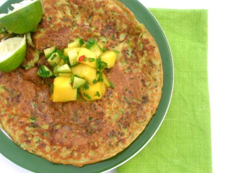 courgette-chickpea-pancake