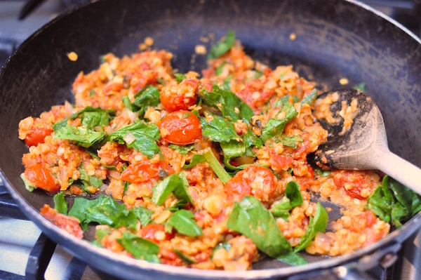lentils and spinach 600px