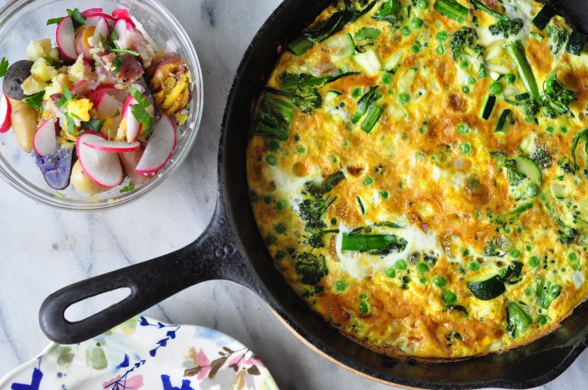 overhead frittata and salad.jpg