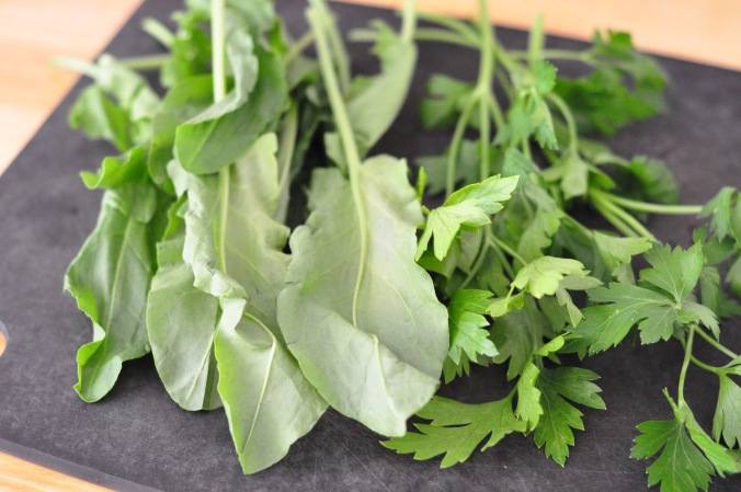 sorrel and parsley